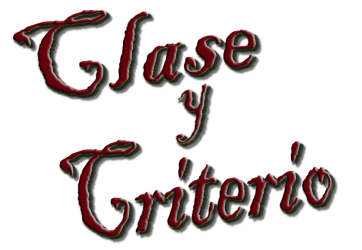 Clase y Criterio